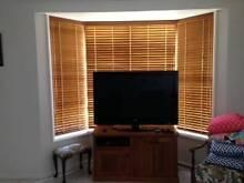 Cedar Timber Venetian Blinds Ashtonfield Maitland Area Preview