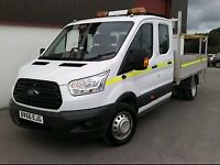 2017 Ford Transit T350 7 Seat Crew Dropside for Auction