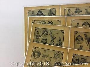 Lot Of Vintage Photos Of 1931 Baseball Players