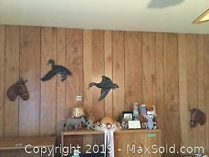 Wall Decor, Indigenous And Horse Figures And More A