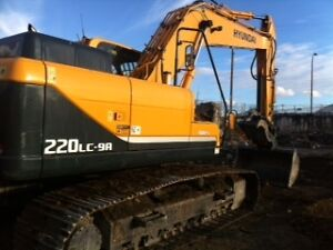 Available -Hyundai 220 Excavator for Lease in Fort McMurray !!!