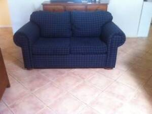 2 seater lounge....blue Seaham Port Stephens Area Preview