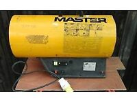 Space heater Master 36 to 56kw