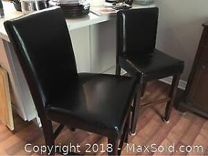 Pair Of Unmatched Stools