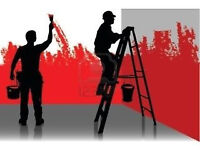 Polish team of the painters looking for a jobs and orders.