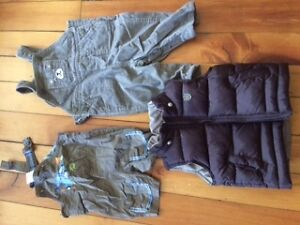 Box of baby boy clothing 3-6 months