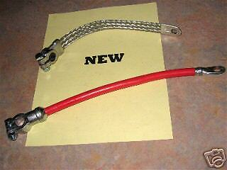 John Deere Battery Cables M 40 320 420 Mt T C W U 430