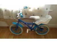 "Disney frozen 14"" bike"
