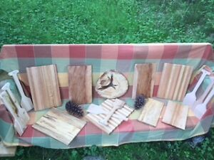 CUTTING BOARDS AND BBQ SCRAPPERS