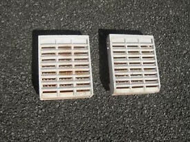 Two gas fire radiant panels - £10