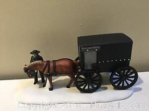 """Department 56 New England Village """"Amish Buggy"""""""