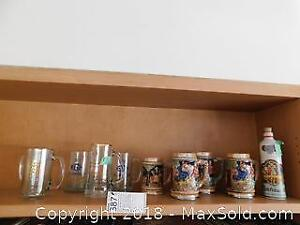 Collection Of Steins A