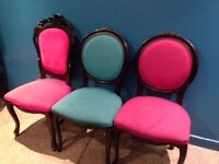 35 x Louis Style Dining Chairs for Cafe/Restaurant/Bar