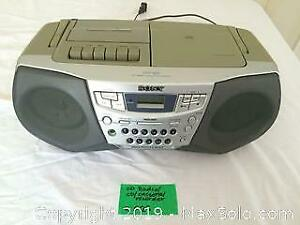 Sony CD/Radio/cassette player Boom box A