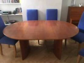 Extending dinning table+6 chairs