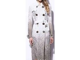 BURBERRY TRENCH LACE COAT