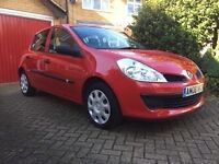 Renault Clio, 1.2 16V Petrol, 2008, 75,000 Miles, Good Condition, Two Lady Owners, £1500