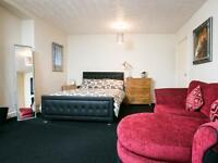 Spacious and Comfortable Studio Apt. 1 bedroom. Serviced Apartment in Leafy South Manchester.