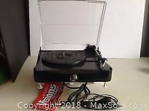 New Unused Compact USB Recordable Turntable
