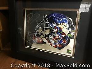 Authentic Pascal Leclaire Framed 11x14 Autographed Picture With COA.
