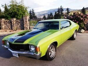 72 CHEVELLE IN SHOW CONDITION