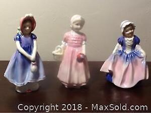 Royal Doulton Figurine Girls 3