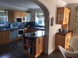 Kitchen Cupboards and Built in Freezer
