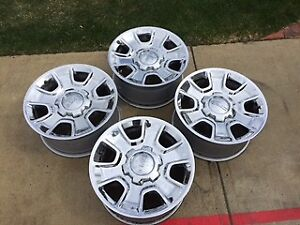 For Sale - GMC Chrome Rims  18inch 6 bolt pattern with sensors