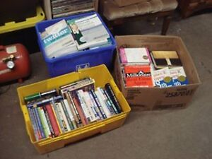 3 boxes of books (Computer,Business,Digital Photography)