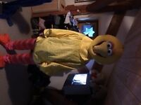 big bird fancy dress costume
