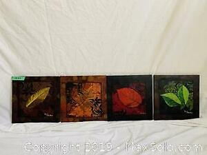 Canvas Wall Art - Four Pieces