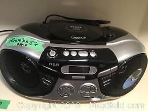 RCA Portable Radio and CD Player
