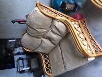 4 piece cane furniture suite