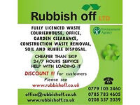 Rubbish removal, waste disposal, garden service, rubbish clearance,fence installation, best price !