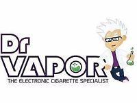 Sales Assistant Required For E-cigarette Shop - Portobello