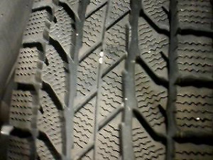 235/70/16 WINTER TIRES AND RIMS FOR SALE   $400