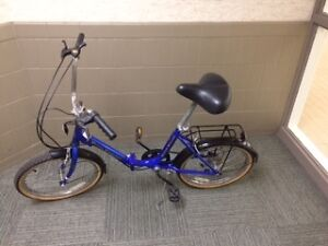 North Woods Folding Bicycle