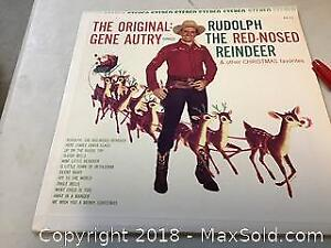 gene autry record Rudolph the red nosed reindeer