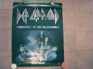 POSTER DEF LEPPARD, SHERYL CROW, THE MATRICE
