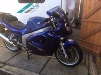 Triumph Sprint 955i for Sale £1875 ovno. Pristine condition. First to view will buy. 23,406 mls