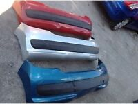 Peugeot 207 2008-2014 rear bumper