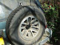 mitsubishi pajero SHOGUN 2800 spare wheel alloywheeL tyre