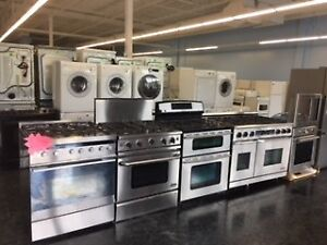 "24"" 30"" STOVE STAINLESS STEEL/WHITE - GLASS, GAS, COIL TOP"