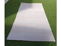 """Biscuit colour length of carpet 45"""" X 132"""""""