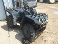 For Sale:  Yamaha 1999 Grizzly 600
