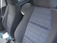 peugeot 307 1.6 seat seats BREAKING FOR PARTS