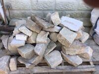 wall stone, white limestone