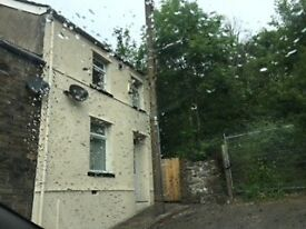 3 Bedroomed end on terrace house in Montain Ash South Wales