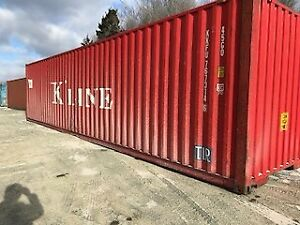 45' USED SHIPPING CONTAINERS / SEACANS FOR SALE. GREAT CONDITION