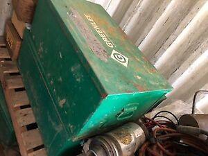 Greenlee Mod. 1230 Welders Tool Box